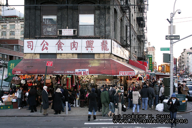 New York City Chinatown Manhattan Canal Street Map
