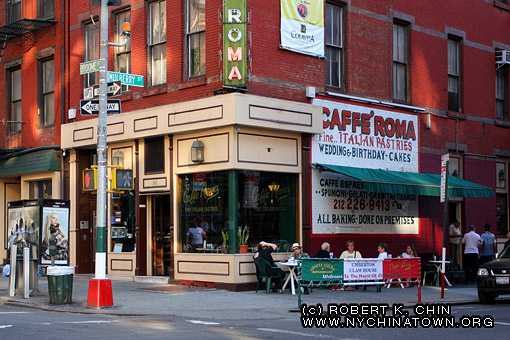 New York City Chinatown Directory Italian Restaurants In Little Italy
